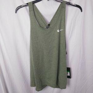 Nike Miler Cross Back Running Tank